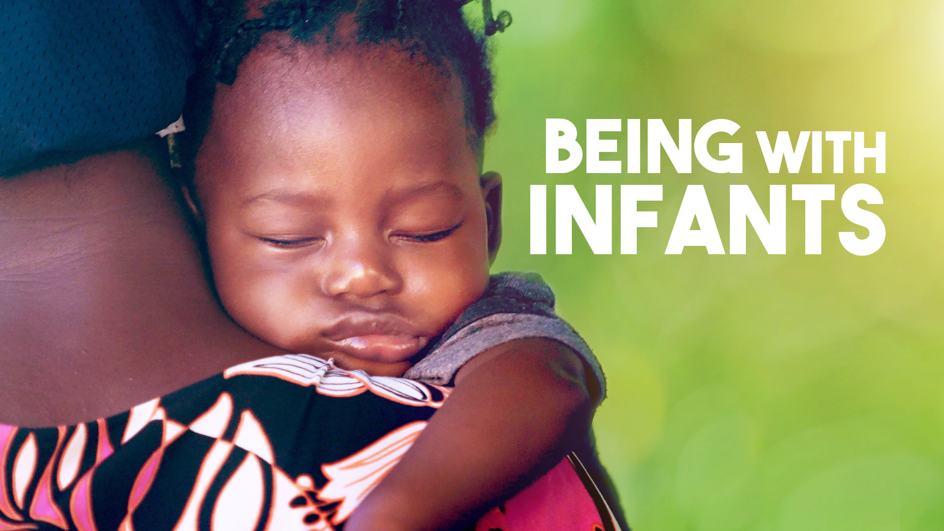 Being With Infants  banner image